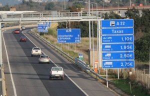 A22 tolls electronica payment system for Car Hire in Algarve