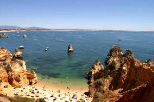 Algarve blue flag beaches