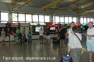 Faro airport car hire check dvla licence